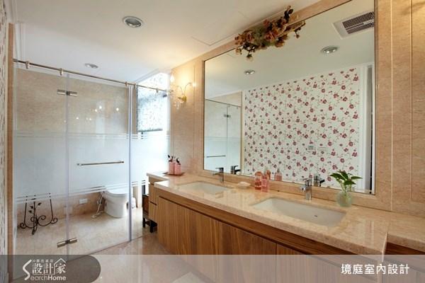 100坪新成屋(5年以下)_鄉村風浴室案例圖片_境庭室內裝修工程有限公司_境庭_07之19