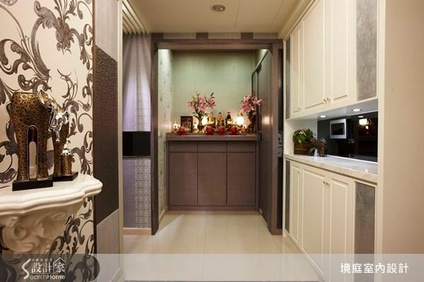 35坪新成屋(5年以下)_新古典佛堂案例圖片_境庭室內裝修工程有限公司_境庭_08之2