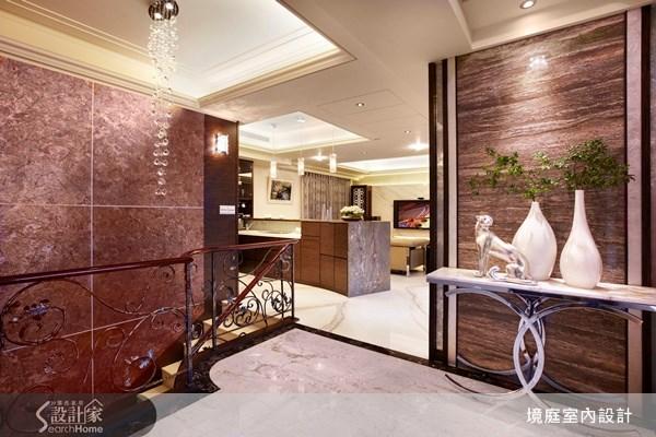 1坪新成屋(5年以下)_新古典樓梯走廊案例圖片_境庭室內裝修工程有限公司_境庭_10之1
