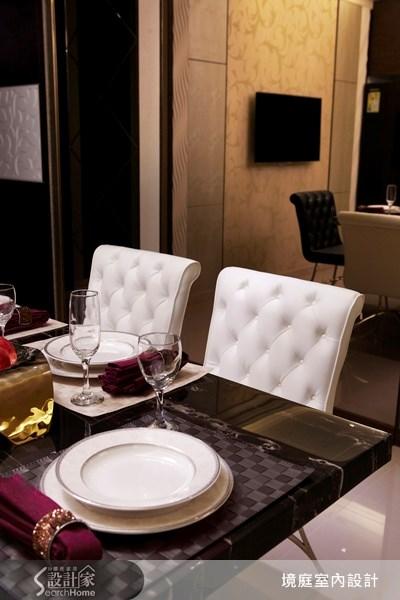 1坪新成屋(5年以下)_新古典餐廳案例圖片_境庭室內裝修工程有限公司_境庭_10之13