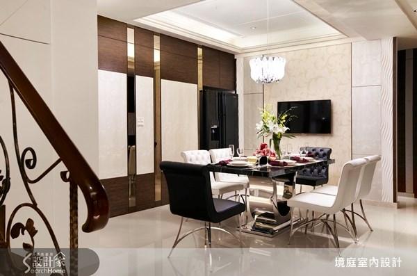 1坪新成屋(5年以下)_新古典餐廳案例圖片_境庭室內裝修工程有限公司_境庭_10之11