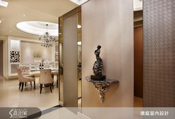 90坪新成屋(5年以下)_混搭風玄關餐廳案例圖片_境庭室內裝修工程有限公司_境庭_11之1