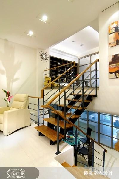 75坪新成屋(5年以下)_現代風樓梯案例圖片_境庭室內裝修工程有限公司_境庭_13之4