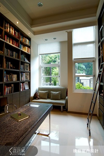 75坪新成屋(5年以下)_現代風書房案例圖片_境庭室內裝修工程有限公司_境庭_13之9