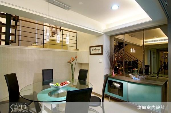 75坪新成屋(5年以下)_現代風餐廳案例圖片_境庭室內裝修工程有限公司_境庭_13之7