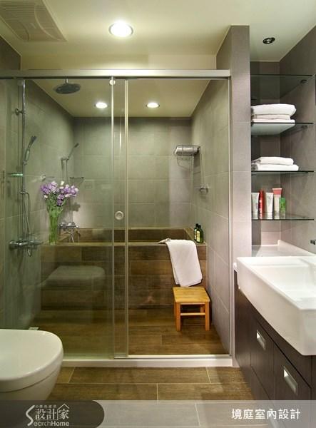 75坪新成屋(5年以下)_現代風浴室案例圖片_境庭室內裝修工程有限公司_境庭_13之12