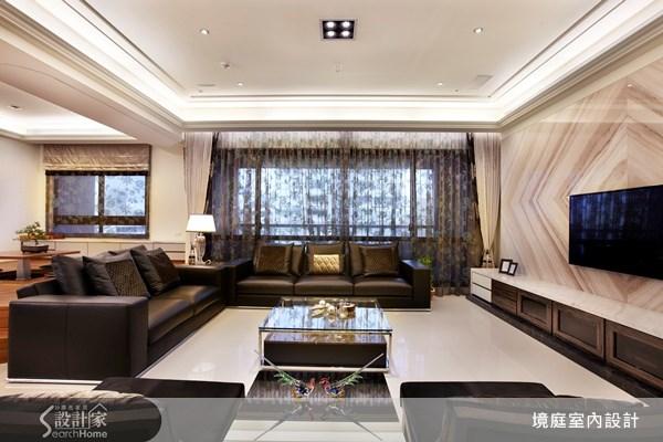 60坪新成屋(5年以下)_新古典客廳和室案例圖片_境庭室內裝修工程有限公司_境庭_14之3