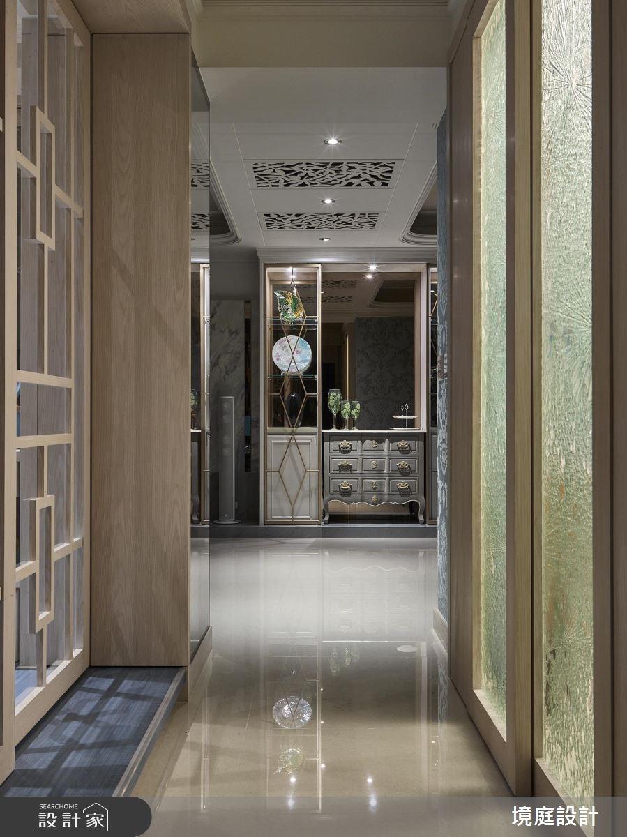 30坪新成屋(5年以下)_混搭風走廊案例圖片_境庭室內裝修工程有限公司_境庭_27之1