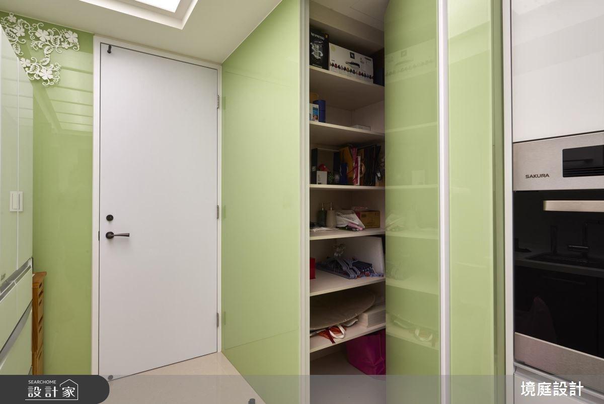 55坪新成屋(5年以下)_現代風廚房案例圖片_境庭室內裝修工程有限公司_境庭_29之35