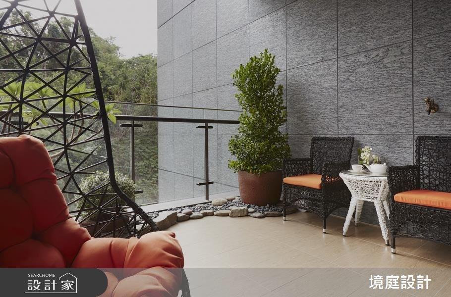 70坪新成屋(5年以下)_鄉村風庭院案例圖片_境庭室內裝修工程有限公司_境庭_31之15