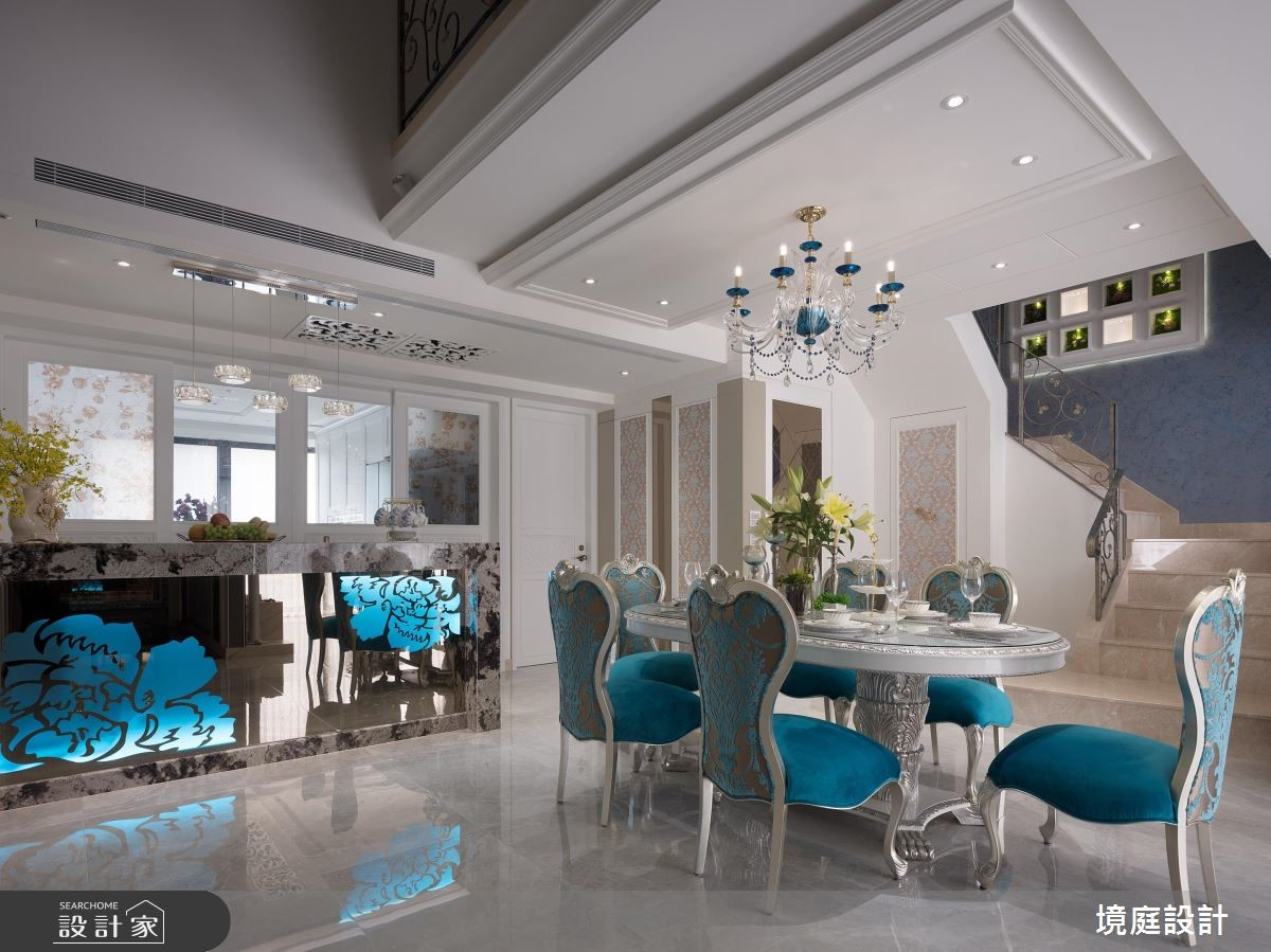 58坪新成屋(5年以下)_混搭風餐廳案例圖片_境庭室內裝修工程有限公司_境庭_37之4