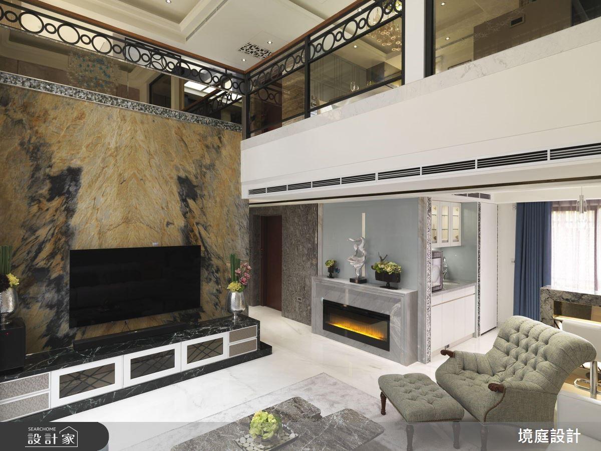 60坪新成屋(5年以下)_混搭風客廳案例圖片_境庭室內裝修工程有限公司_境庭_38之4