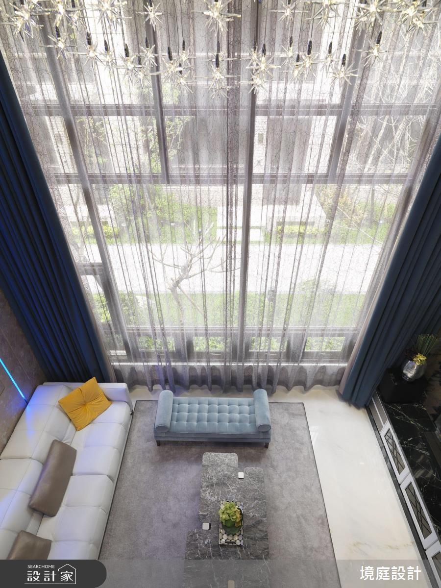 60坪新成屋(5年以下)_混搭風客廳案例圖片_境庭室內裝修工程有限公司_境庭_38之8