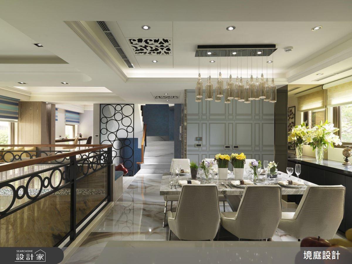 60坪新成屋(5年以下)_混搭風餐廳案例圖片_境庭室內裝修工程有限公司_境庭_38之16