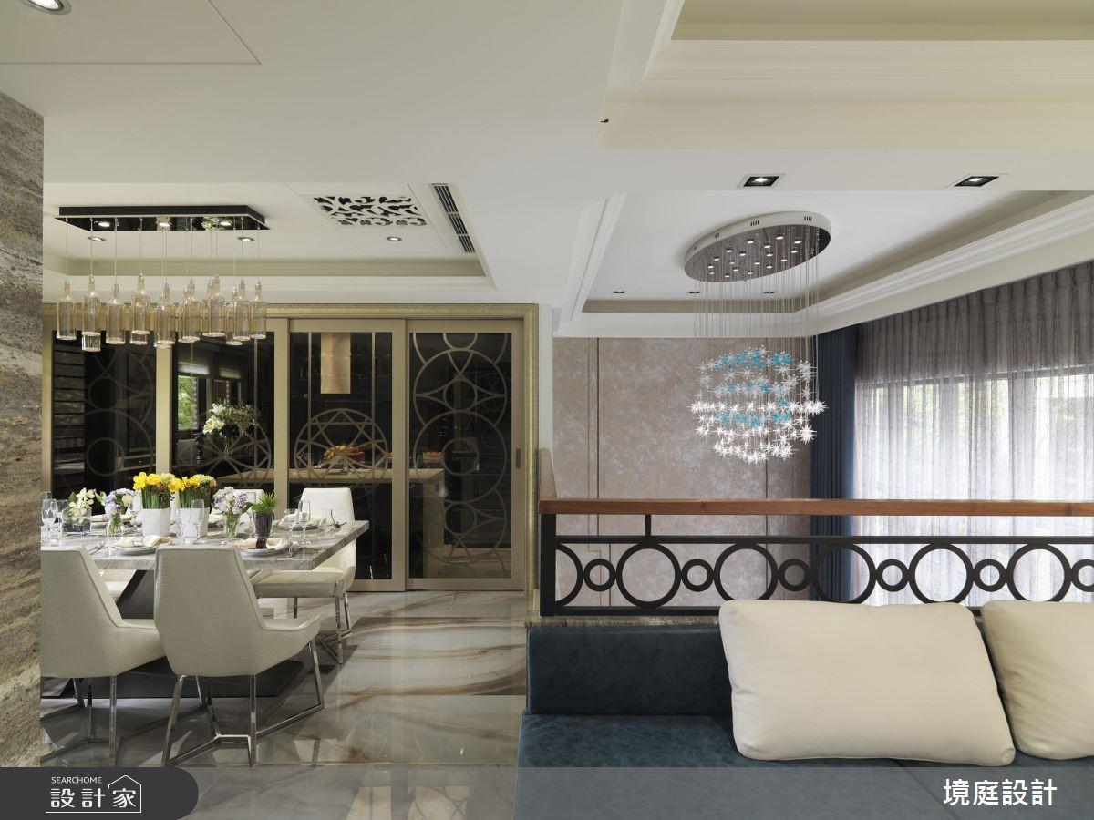 60坪新成屋(5年以下)_混搭風餐廳案例圖片_境庭室內裝修工程有限公司_境庭_38之14