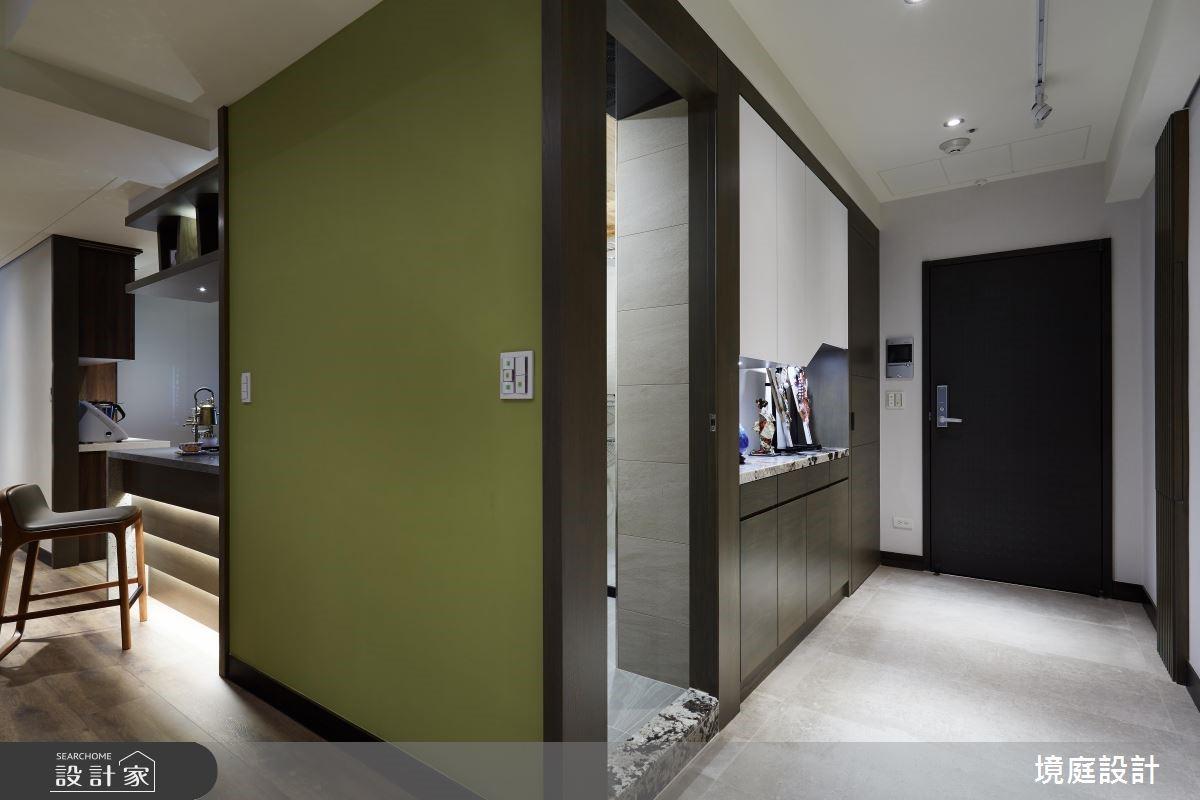 預售屋_休閒風玄關案例圖片_境庭室內裝修工程有限公司_境庭_39之2