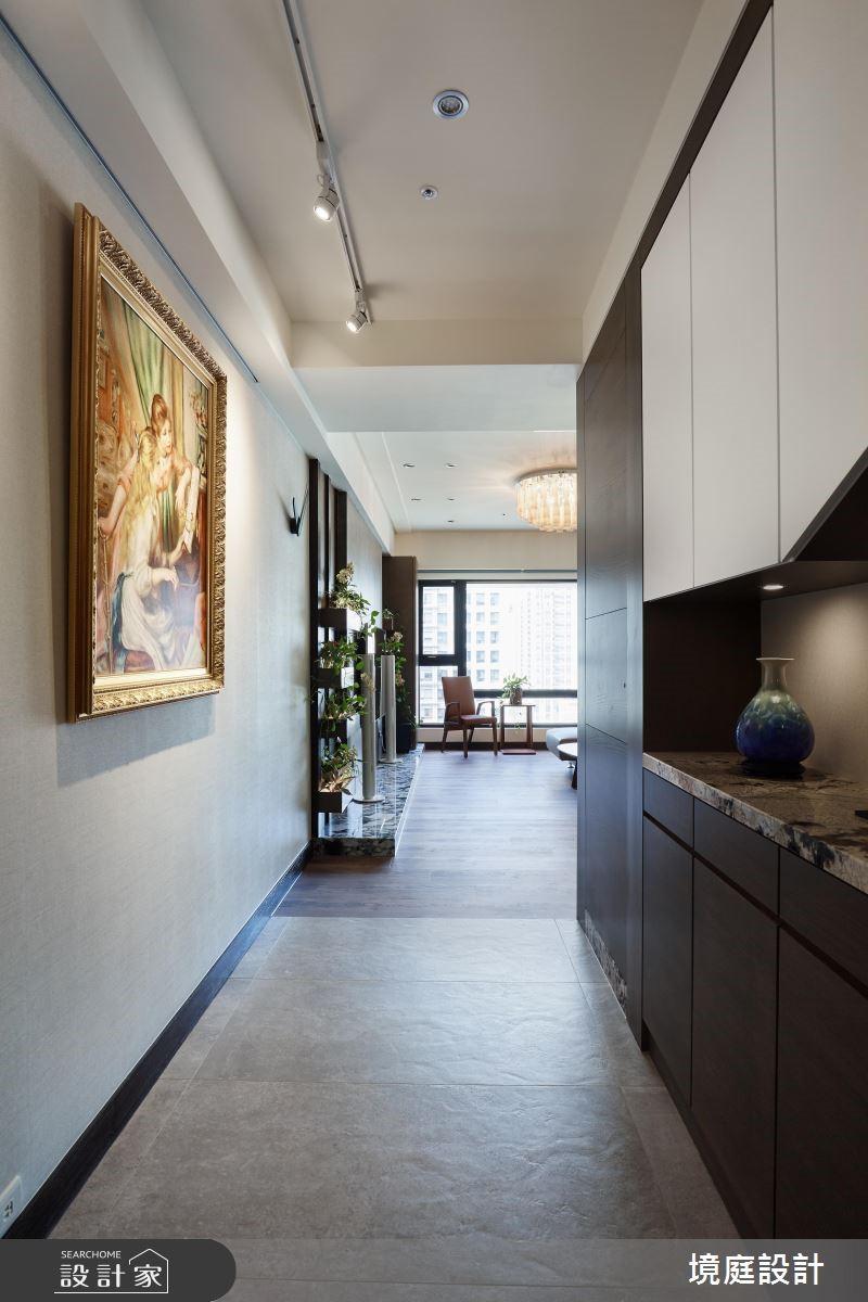 預售屋_休閒風玄關案例圖片_境庭室內裝修工程有限公司_境庭_39之3