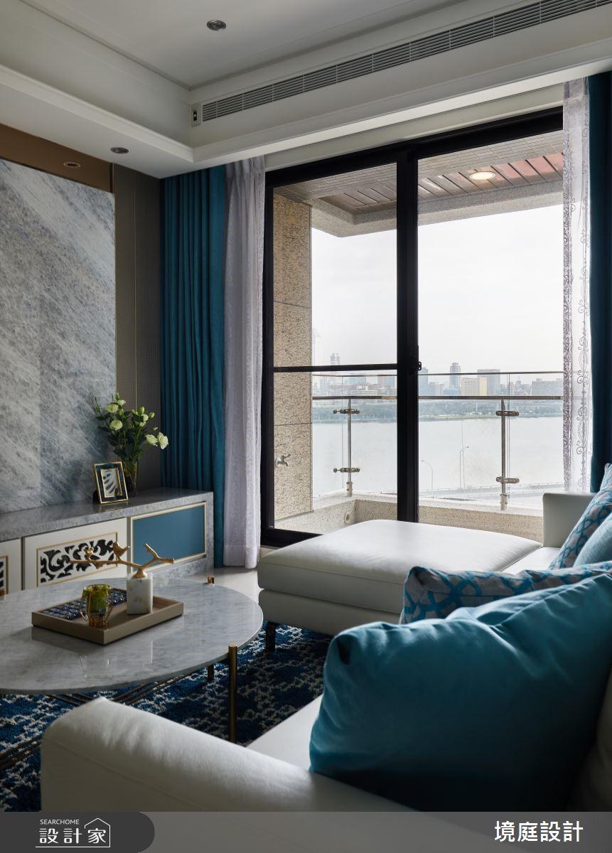 24坪預售屋_新古典客廳案例圖片_境庭室內裝修工程有限公司_境庭_40之4