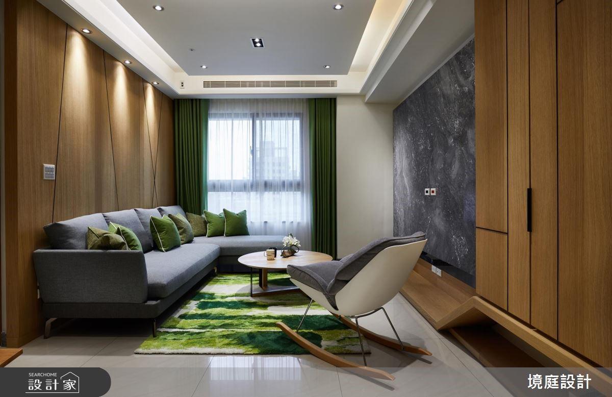 24坪預售屋_簡約風客廳案例圖片_境庭室內裝修工程有限公司_境庭_41之3