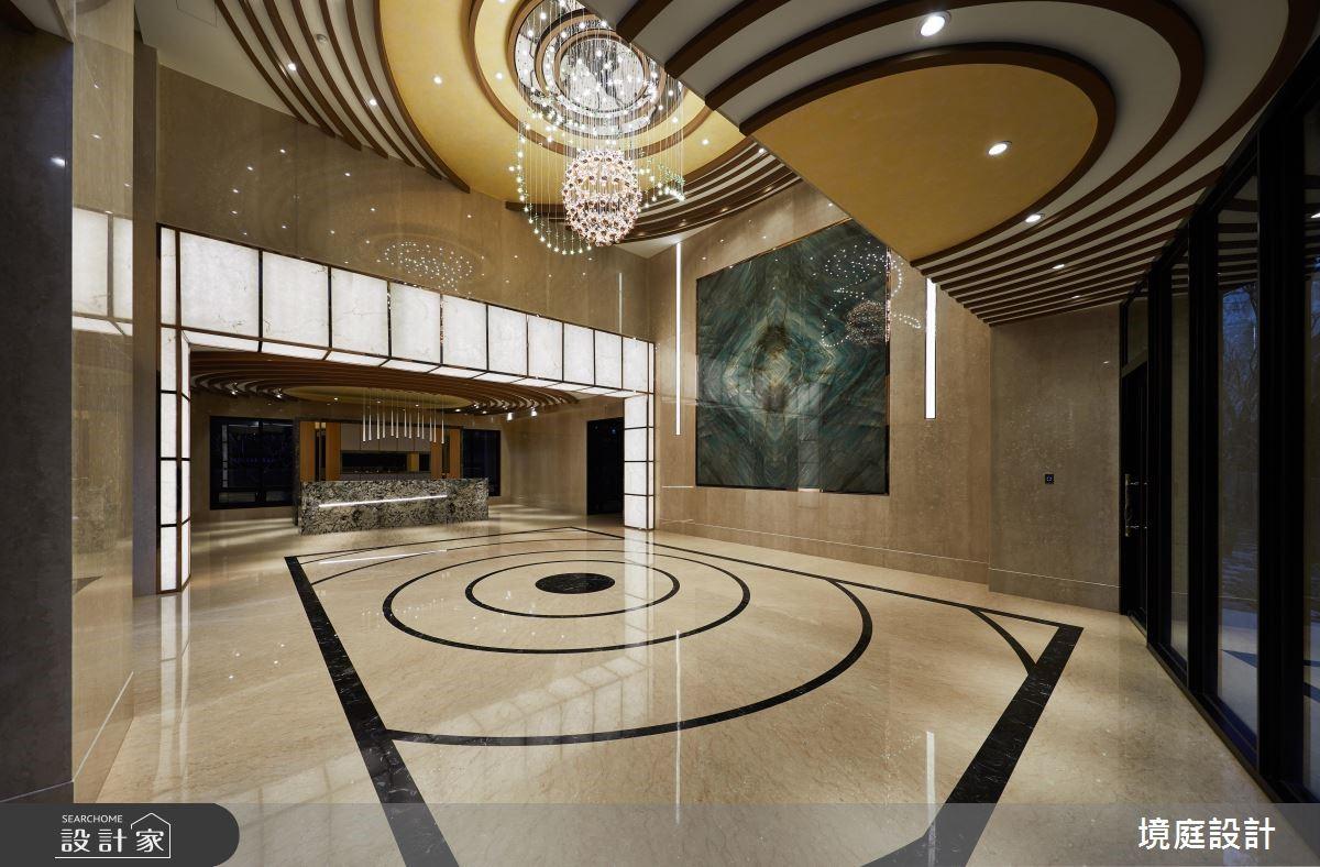 39坪預售屋_奢華風商業空間案例圖片_境庭室內裝修工程有限公司_境庭_42之4