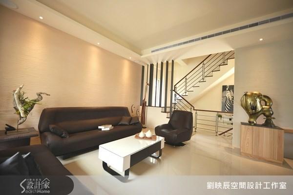 新成屋(5年以下)_休閒風客廳樓梯案例圖片_大秝空間設計/建築規劃_劉映辰_05之2