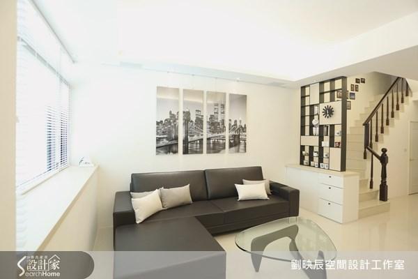 51坪新成屋(5年以下)_現代風客廳樓梯案例圖片_大秝空間設計/建築規劃_劉映辰_06之2
