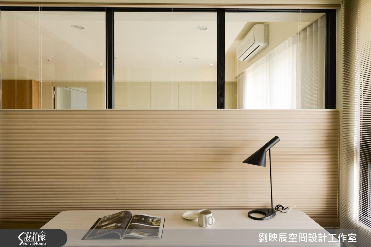 35坪新成屋(5年以下)_現代風書房案例圖片_大秝空間設計/建築規劃_劉映辰_11之3