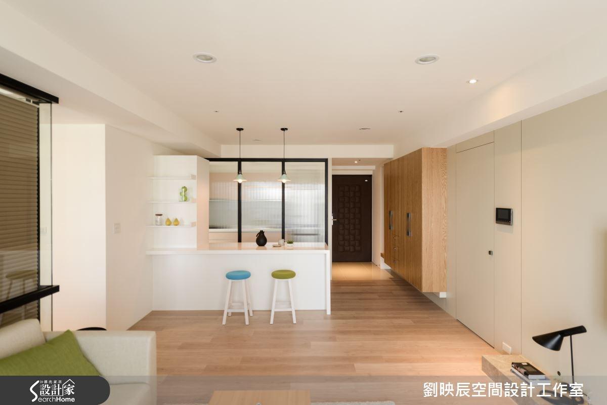 35坪新成屋(5年以下)_現代風客廳案例圖片_大秝空間設計/建築規劃_劉映辰_11之6