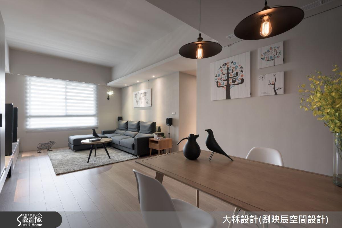 40坪新成屋(5年以下)_現代風客廳餐廳案例圖片_大秝空間設計/建築規劃_劉映辰_13之3