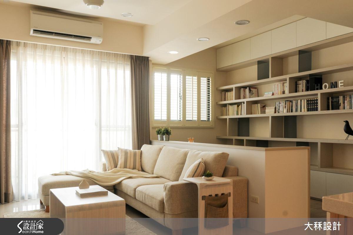 30坪新成屋(5年以下)_北歐風客廳案例圖片_大秝空間設計/建築規劃_大秝_15之3