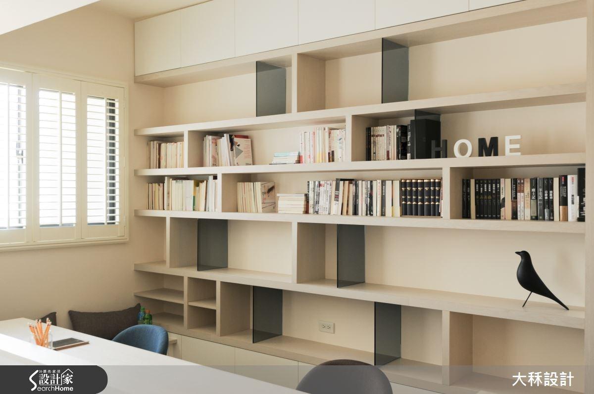 30坪新成屋(5年以下)_北歐風書房案例圖片_大秝空間設計/建築規劃_大秝_15之8