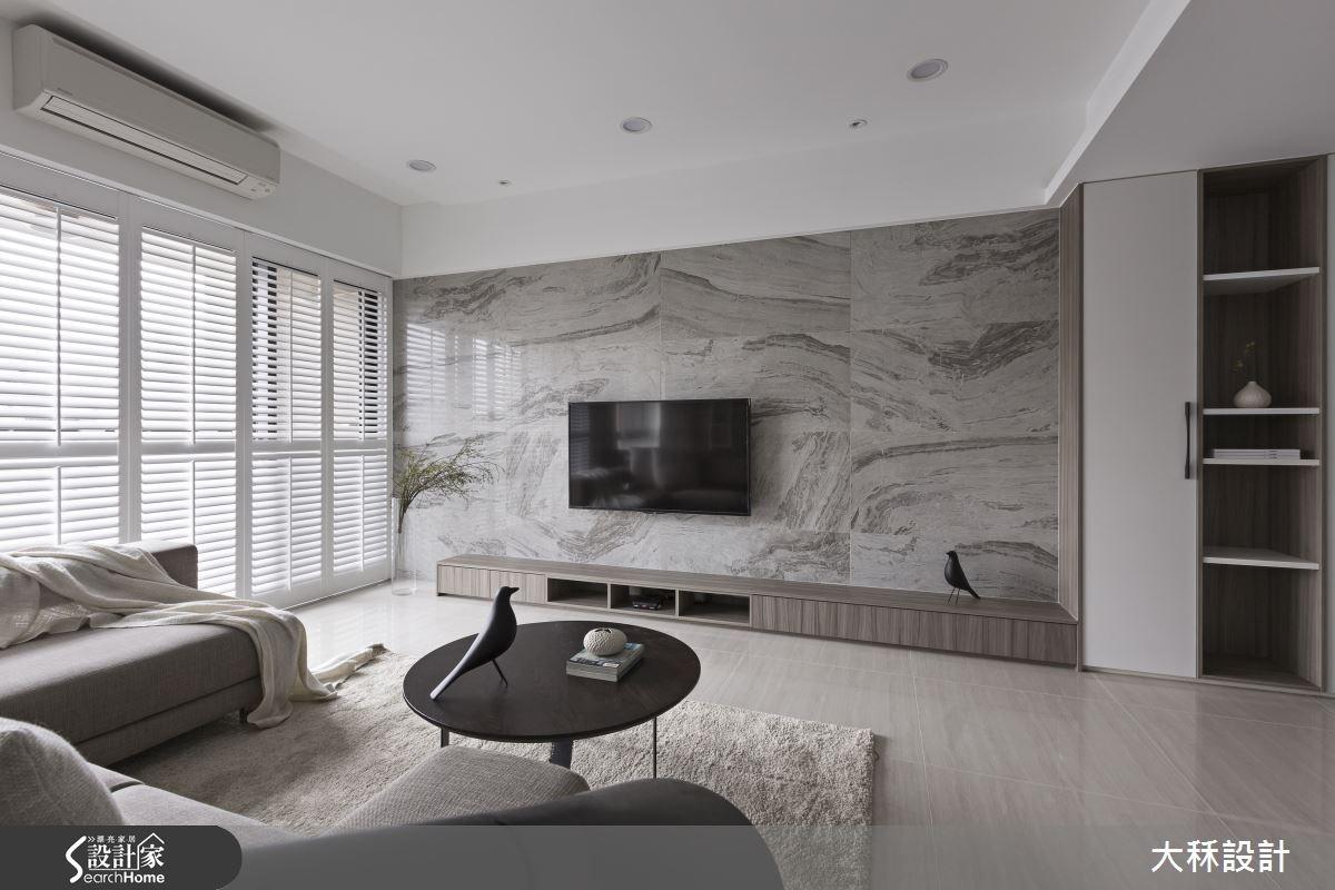 57坪新成屋(5年以下)_現代風客廳案例圖片_大秝空間設計/建築規劃_大秝_17之4