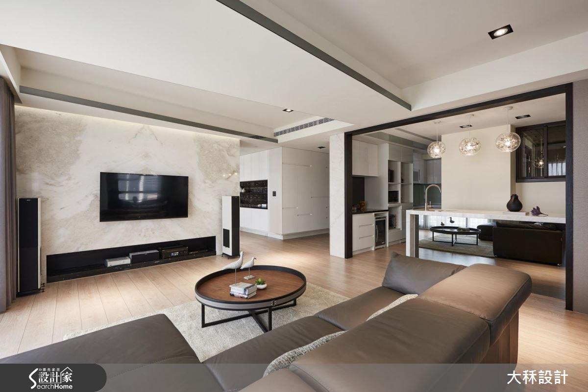 60坪新成屋(5年以下)_現代風客廳吧檯案例圖片_大秝空間設計/建築規劃_大秝_19之5