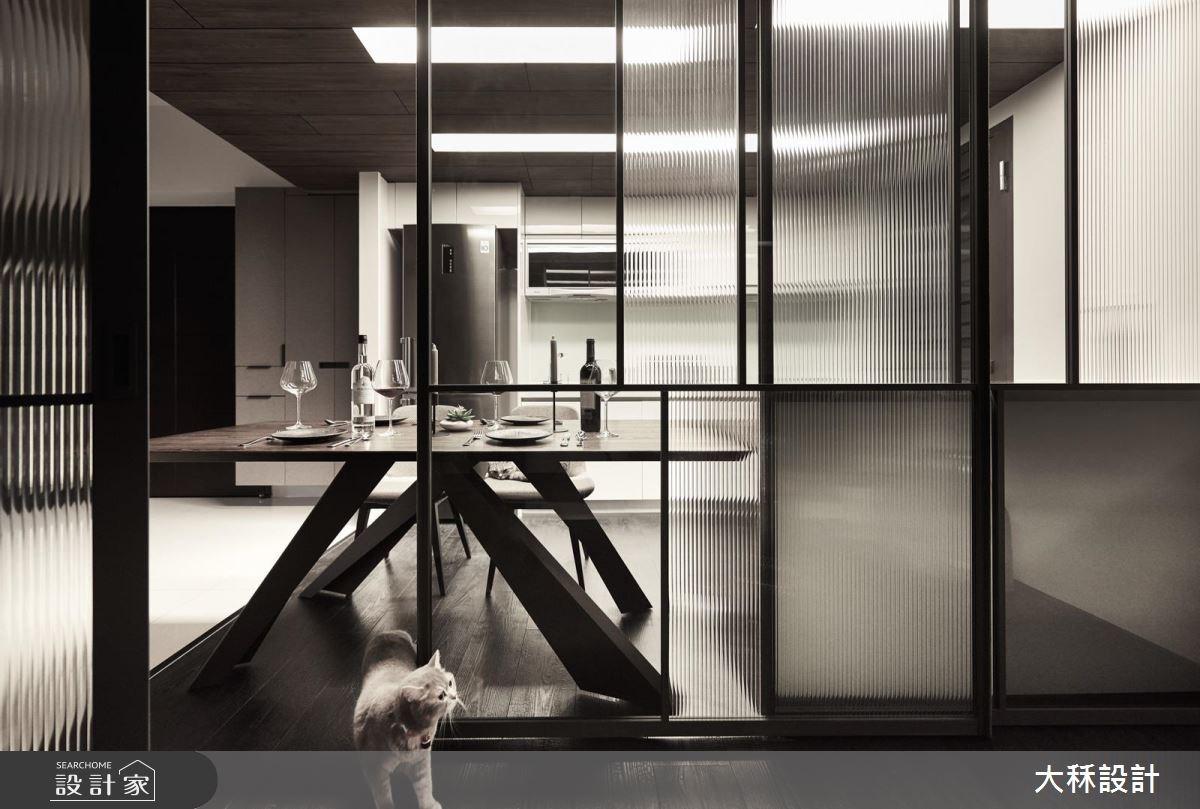 20坪新成屋(5年以下)_現代風餐廳廚房案例圖片_大秝空間設計/建築規劃_大秝_23之4