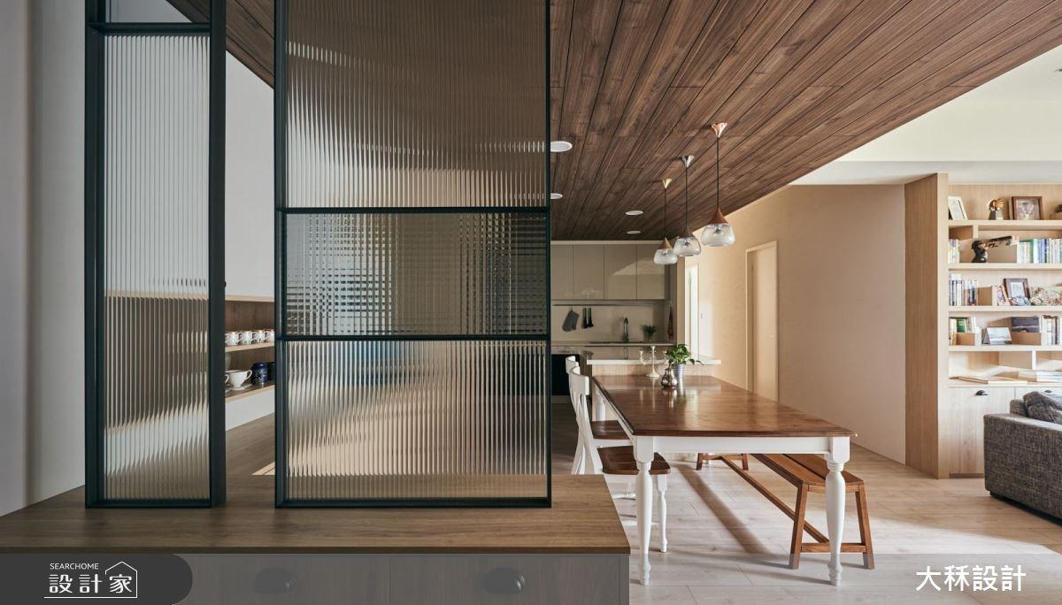 38坪新成屋(5年以下)_美式風玄關餐廳廚房案例圖片_大秝空間設計/建築規劃_大秝_24之1