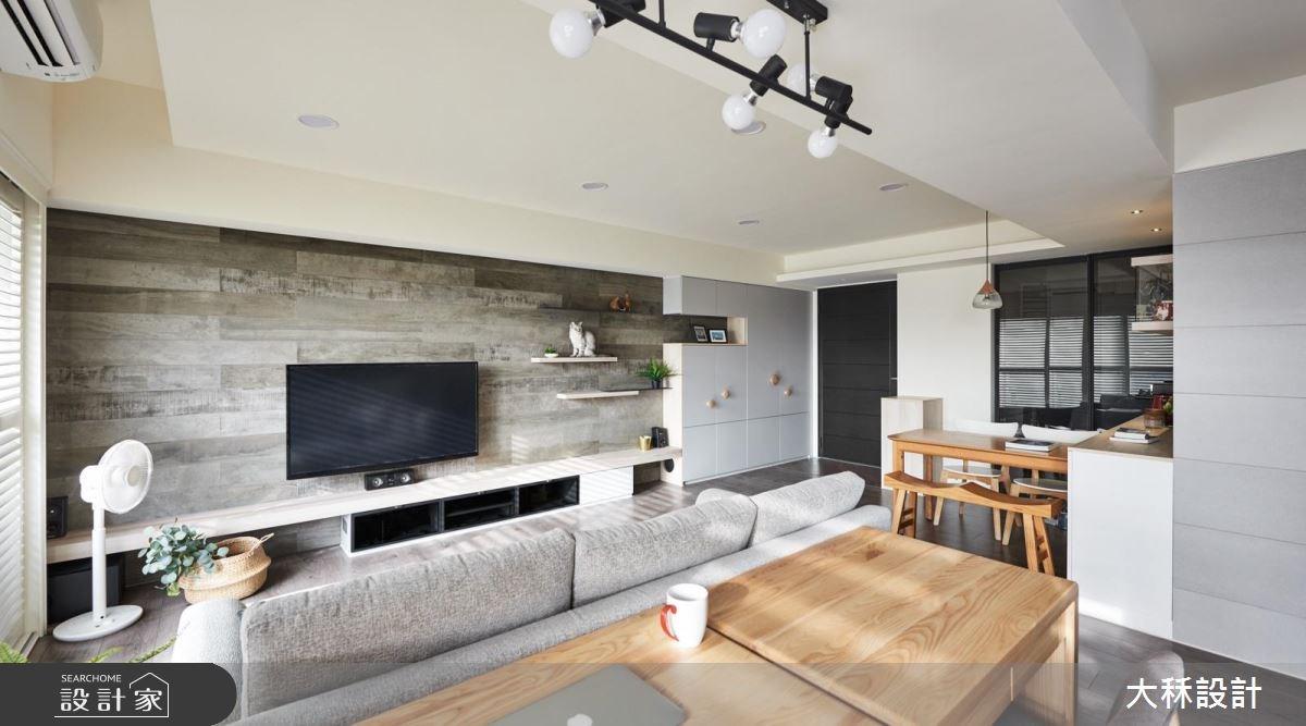 20坪新成屋(5年以下)_休閒風玄關客廳案例圖片_大秝空間設計/建築規劃_大秝_27之4