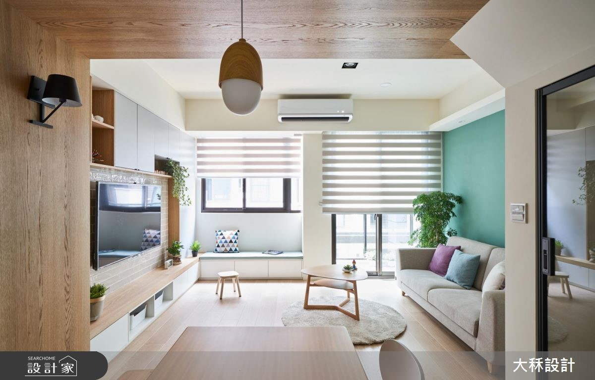40坪新成屋(5年以下)_北歐風案例圖片_大秝空間設計/建築規劃_大秝_29之2