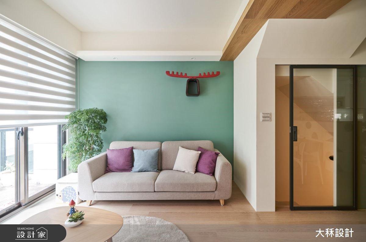 40坪新成屋(5年以下)_北歐風案例圖片_大秝空間設計/建築規劃_大秝_29之4