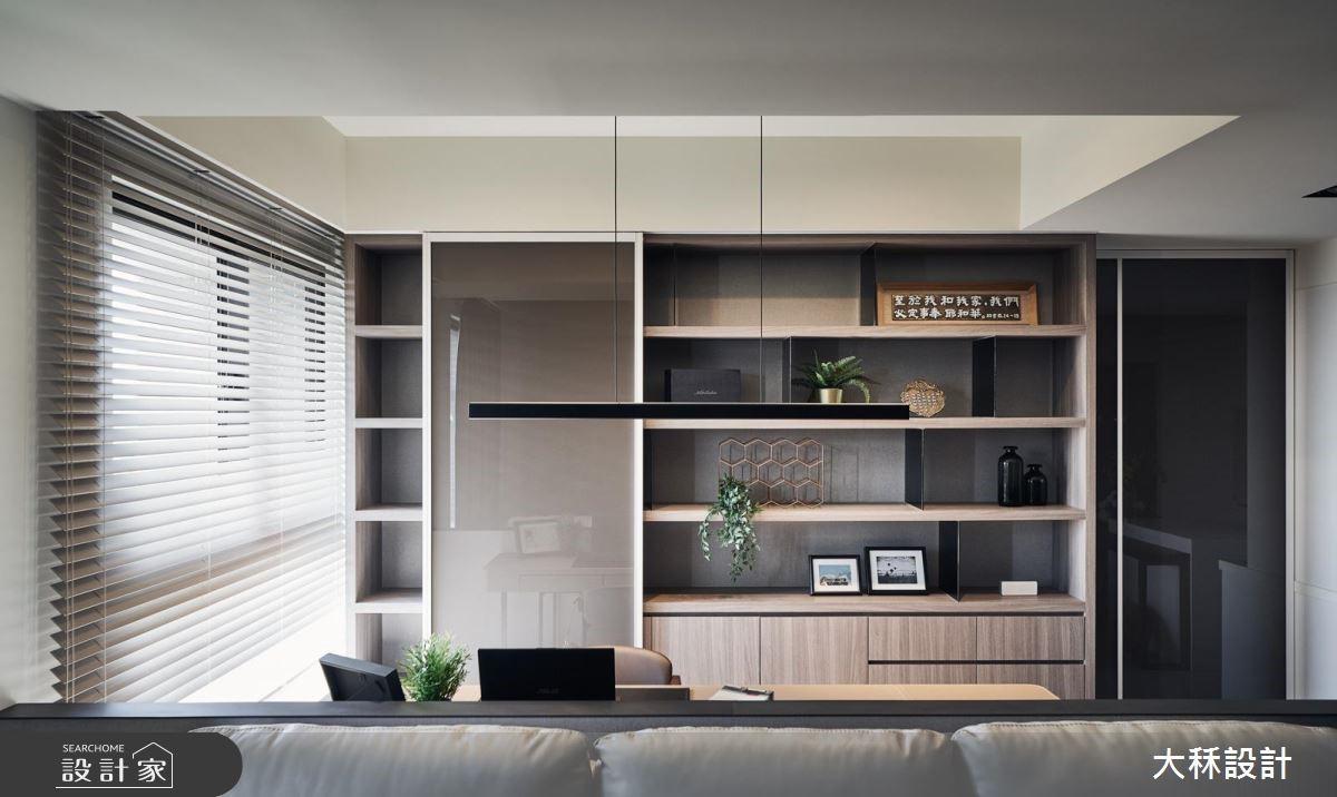 30坪新成屋(5年以下)_現代風案例圖片_大秝空間設計/建築規劃_大秝_30之2