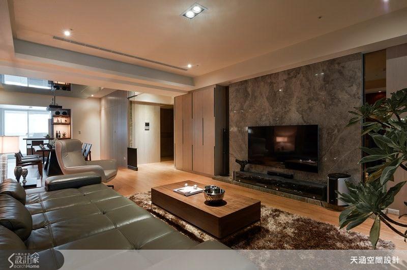 48坪新成屋(5年以下)_奢華風案例圖片_天涵空間設計有限公司_天涵_13之5