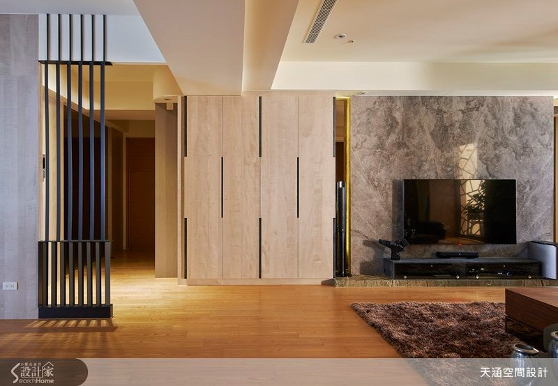 48坪新成屋(5年以下)_奢華風案例圖片_天涵空間設計有限公司_天涵_13之2