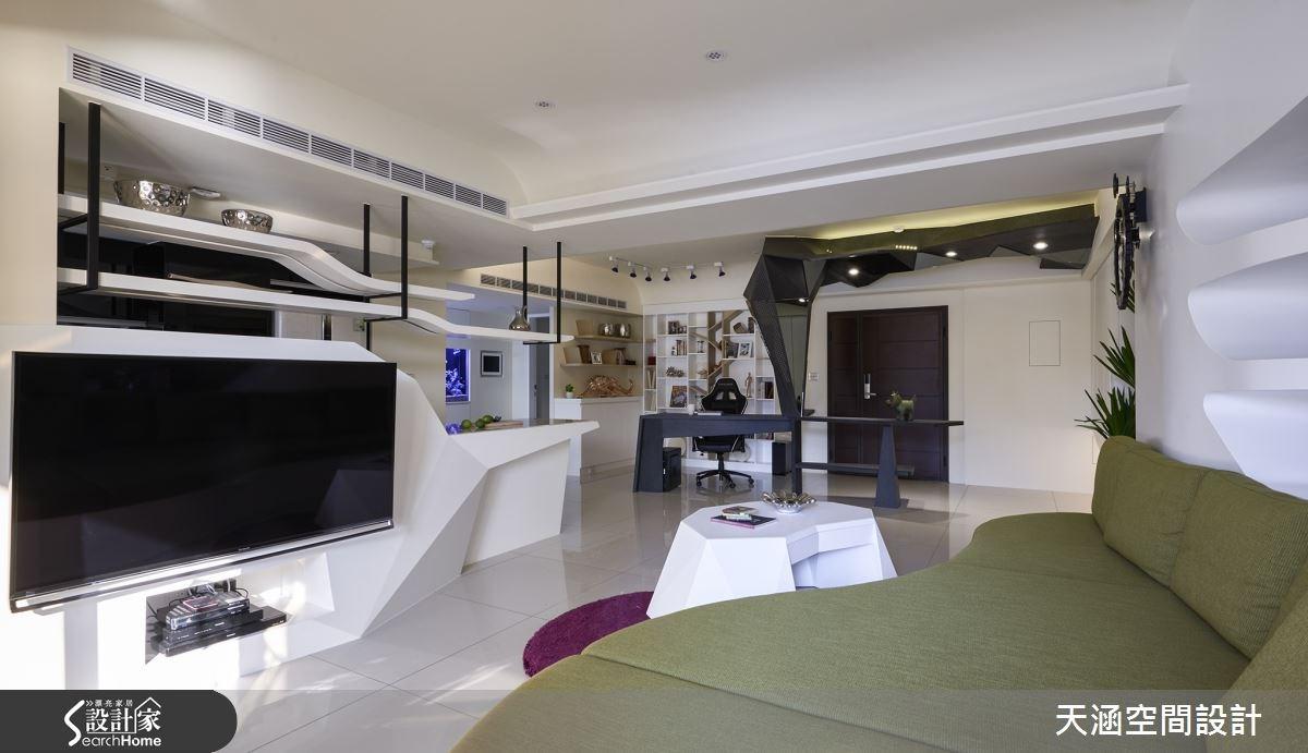 40坪新成屋(5年以下)_混搭風案例圖片_天涵空間設計有限公司_天涵_16之3