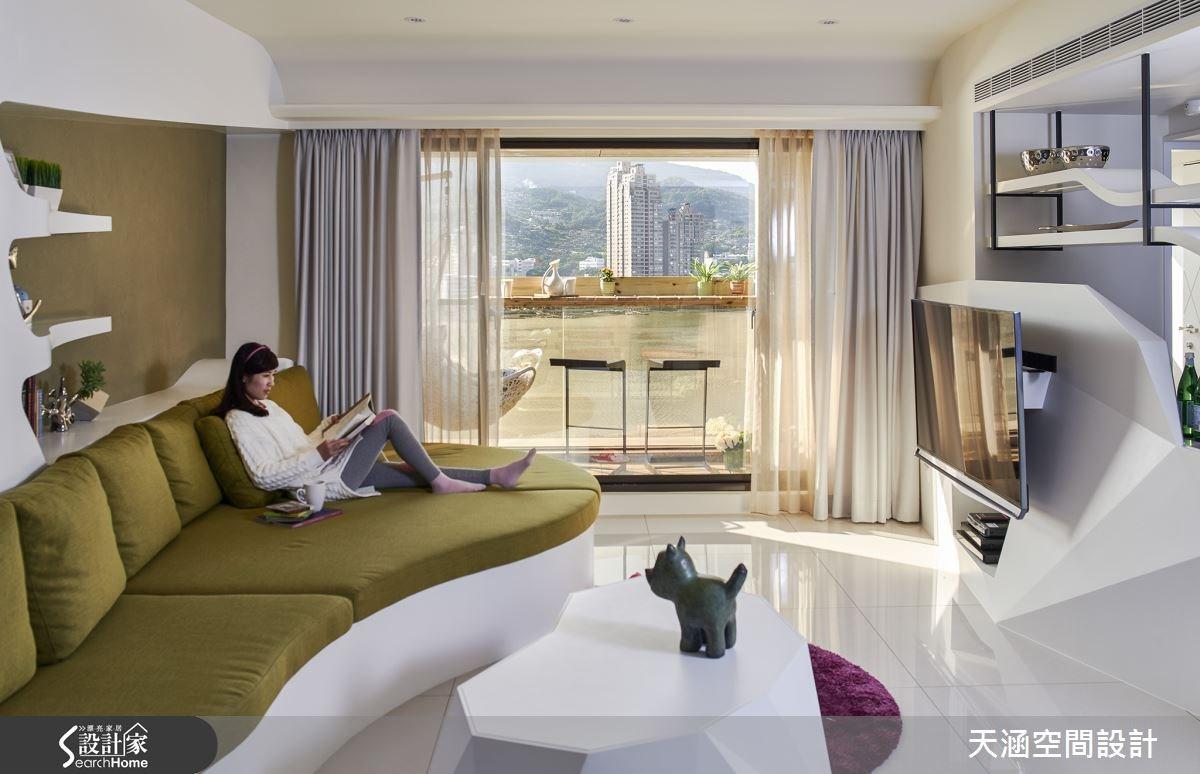 40坪新成屋(5年以下)_混搭風案例圖片_天涵空間設計有限公司_天涵_16之5