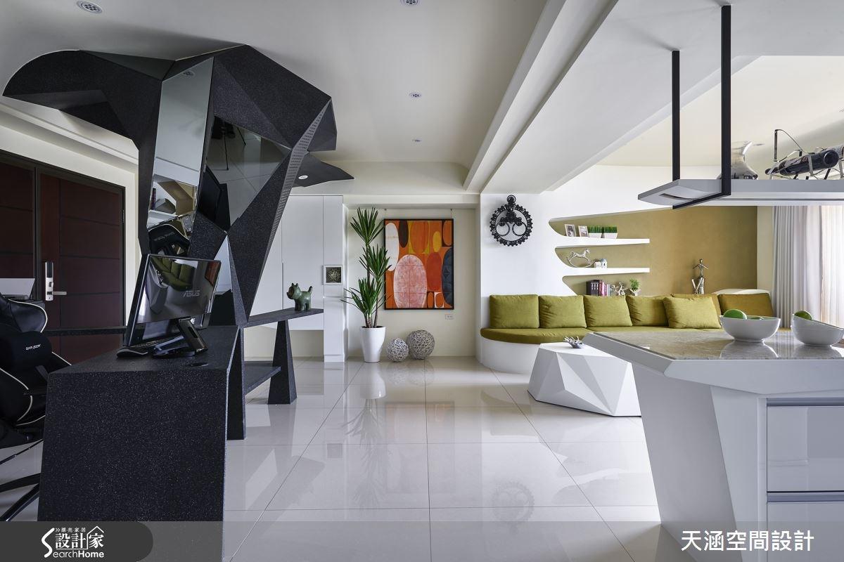 40坪新成屋(5年以下)_混搭風案例圖片_天涵空間設計有限公司_天涵_16之6