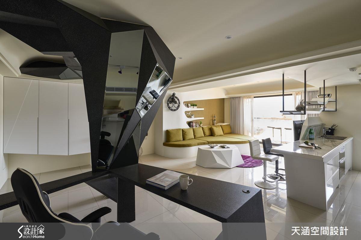 40坪新成屋(5年以下)_混搭風案例圖片_天涵空間設計有限公司_天涵_16之9