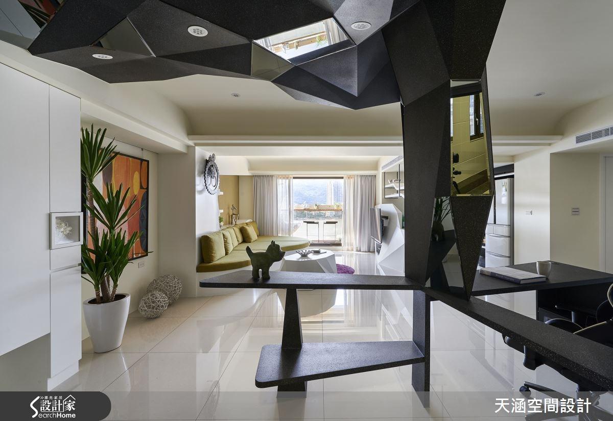 40坪新成屋(5年以下)_混搭風案例圖片_天涵空間設計有限公司_天涵_16之11