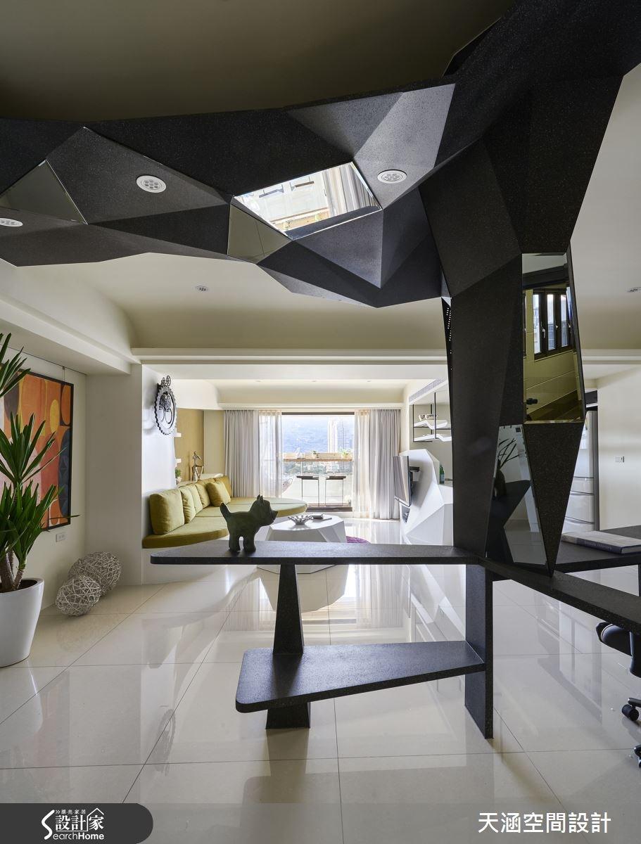 40坪新成屋(5年以下)_混搭風案例圖片_天涵空間設計有限公司_天涵_16之12