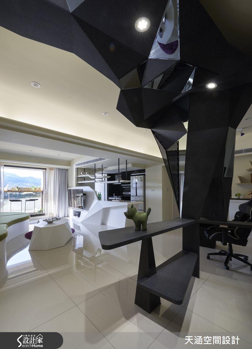40坪新成屋(5年以下)_混搭風案例圖片_天涵空間設計有限公司_天涵_16之14