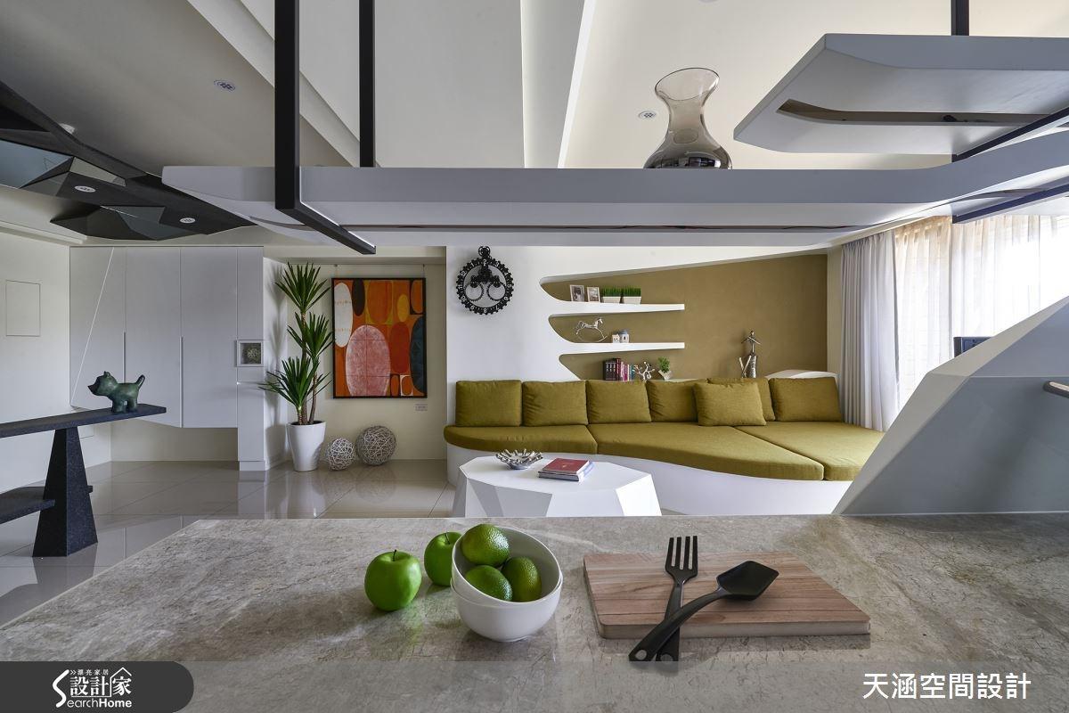 40坪新成屋(5年以下)_混搭風案例圖片_天涵空間設計有限公司_天涵_16之18