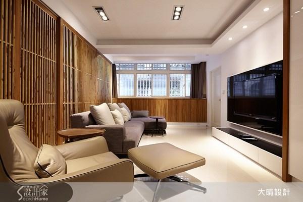 35坪老屋(16~30年)_新中式風客廳案例圖片_大晴設計有限公司_大晴_08之4